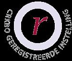 CRKBO geregistreerde instelling